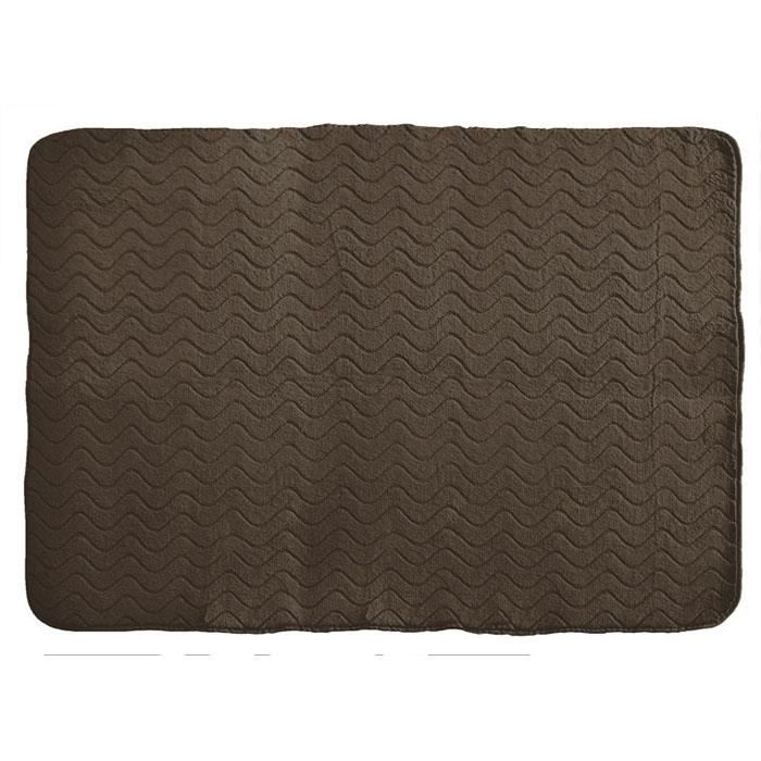 tapis imitation fourrure 120x170 loutre choco achat. Black Bedroom Furniture Sets. Home Design Ideas