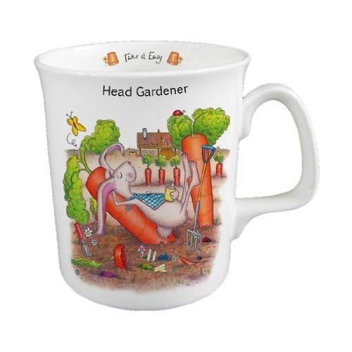 the compost heap tasse en porcelaine anglaise fine head gardener achat vente bol mug. Black Bedroom Furniture Sets. Home Design Ideas