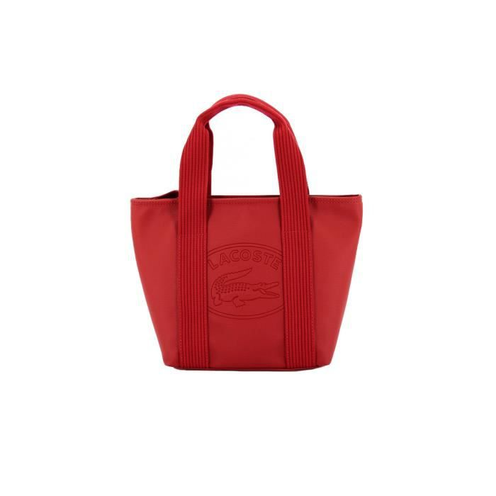 sac main lacoste rouge achat vente sac main lacoste rouge cdiscount. Black Bedroom Furniture Sets. Home Design Ideas