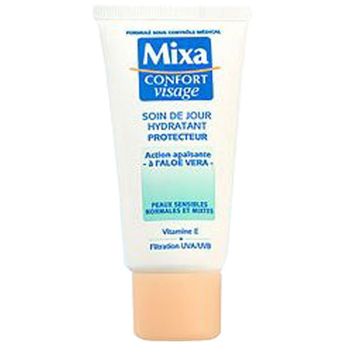 mixa confort visage soin jour hydratant 50ml x1 achat vente hydratant visage mix cf vis cr. Black Bedroom Furniture Sets. Home Design Ideas