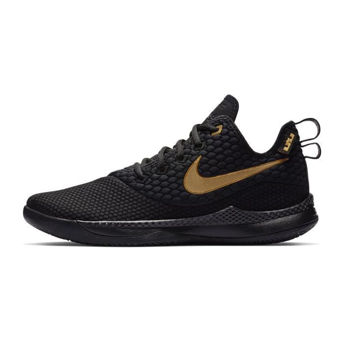 buy popular ecc6a cc276 Chaussures basketball Nike LeBron Witness III Noir