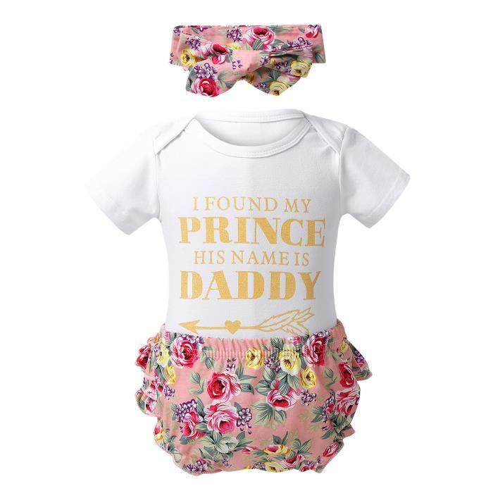 Filles Pour Bébé Une épaule Haut Short Bandeau Set 3-6 M 6-9 M 9-12 m