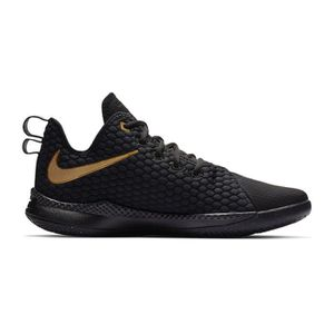 new style 95c82 236f0 ... CHAUSSURES BASKET-BALL Chaussures basketball Nike LeBron Witness III  Noir ...