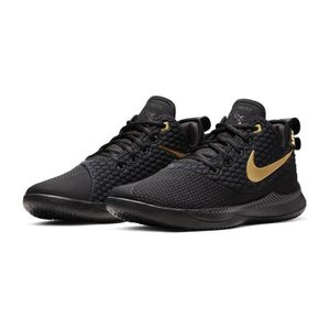 premium selection 35254 8d53d ... CHAUSSURES BASKET-BALL Chaussures basketball Nike LeBron Witness III  Noir. ‹›