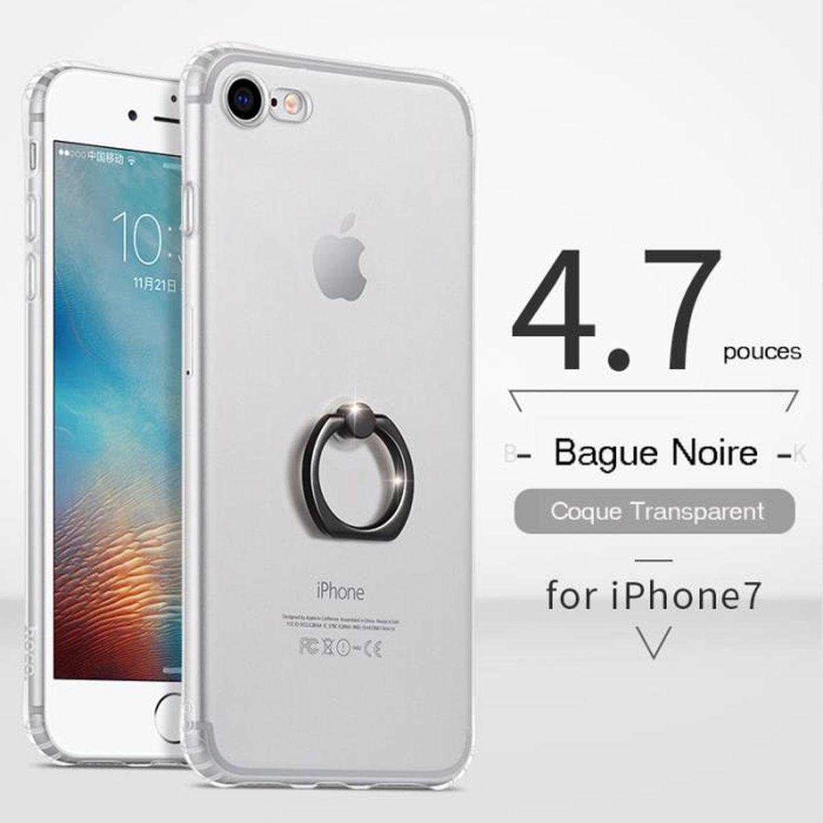 coque transparent pour iphone 7 ecran 4 7 pouces a