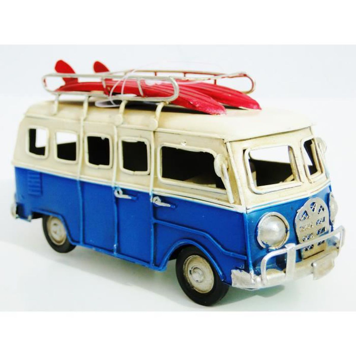 miniature en tole combi volkswagen vw miniature surf deco. Black Bedroom Furniture Sets. Home Design Ideas