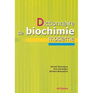 OUVRAGE PATHOLOGIE  Dictionnaire de biochimie moderne
