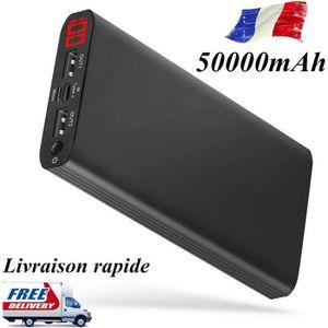 BATTERIE EXTERNE RUILIN®50000mAh Batterie externe  à chargement rap