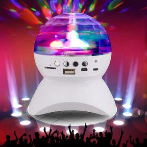 ENCEINTE NOMADE LED lumières de la scène sans fil Bluetooth Speake