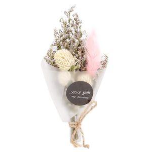 Chic bouquets de fleurs 50pcs naturelles s/éch/ées couleur cru Lagurus les bouquets de fleurs pour bouquets D/écoration