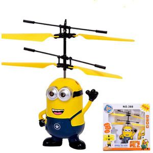 DRONE Minions RC Drone Hélicoptère infrarouge induction