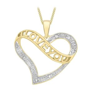"""/""""je vous aime/"""" Sculpté Diamant cristal Or Jaune Rempli femmes Lady Anneaux Mariage"""