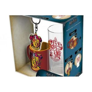 BOL - MUG - MAZAGRAN HARRY POTTER - Coffret (Verre + Porte Cles + Mini