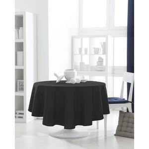 """2.2 m 86 /""""Essuyer Toile Cirée Vinyle PVC NOIRS couverture lavables Table Nappe Co"""