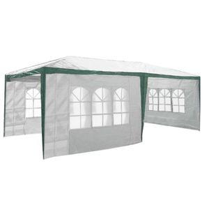 TONNELLE - BARNUM Tente de Réception 3 x 6 m avec 6 parois latérales