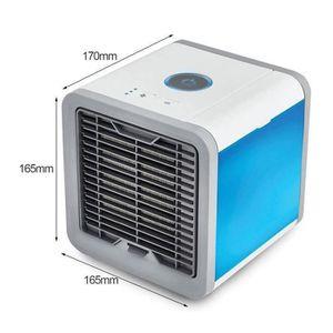 CLIMATISEUR FIXE ChangM MINI Climatiseur Portable LED 7 Couleurs S3