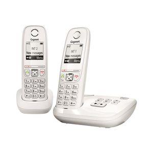 Téléphone fixe Gigaset AS405A Duo Téléphone sans fil système de r