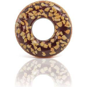 BOUÉE - BRASSARD INTEX Bouée gonflable Tube Donut Choco Noisette -