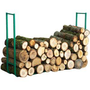 ABRI BÛCHES serre bois extensible