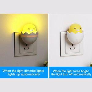 VEILLEUSE BÉBÉ lampe de chambre capteur LED lumière nuit contrôle