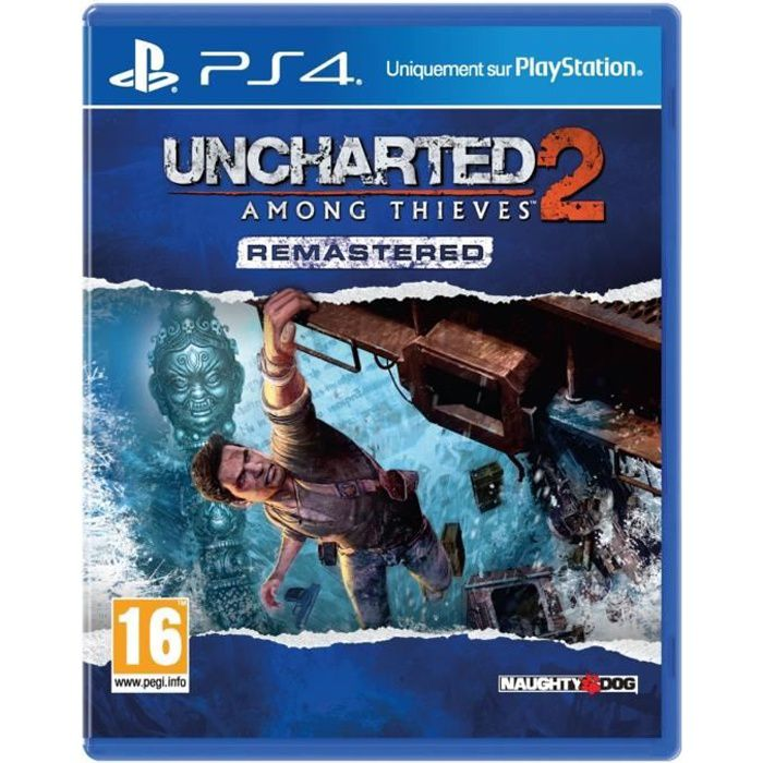 Uncharted 2: Among Thieves Remastered Jeu PS4