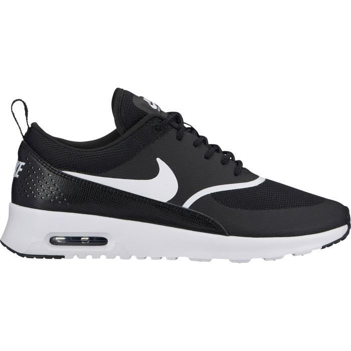 timeless design f40f0 58b21 BASKET NIKE Baskets Air Max Thea - Femme - Noir