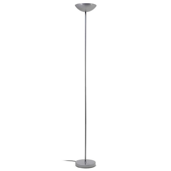 lampadaire eliot droit gris argent achat vente lampadaire eliot droit gris m tal cdiscount. Black Bedroom Furniture Sets. Home Design Ideas