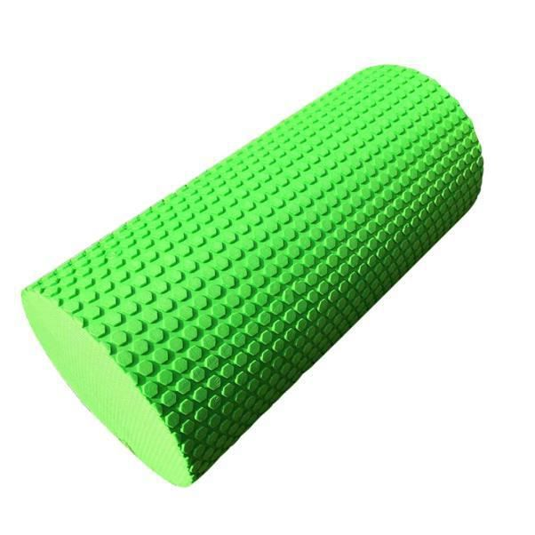 30 cm Yoga Pilates massage fitness gym point de déclenchement de l'exercice rouleau de mousse vert