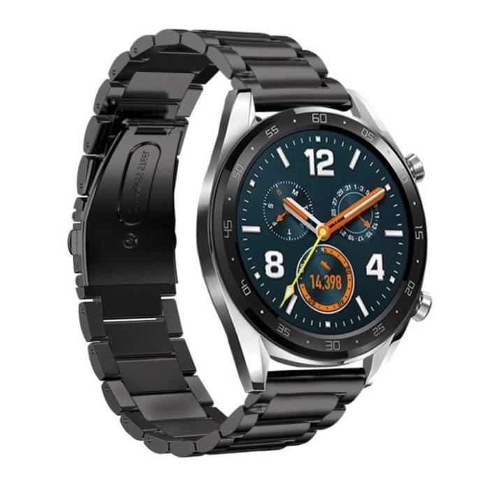 bracelet de montre vendu seul Déblocage rapide en acier inoxydable pour bracelet de remplacement pour Huawei Watch GT