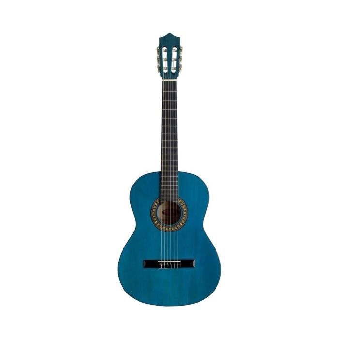 stagg guitare classique mod le 4 4 bleu achat vente. Black Bedroom Furniture Sets. Home Design Ideas