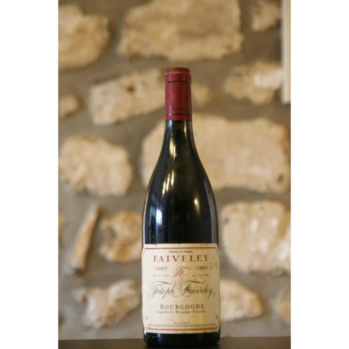 Bourgogne,rouge,Domaine Faiveley 1998 Simple