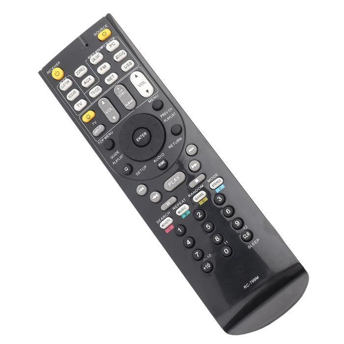 Garosa télécommande pour Onkyo RC-799M Récepteur audio vidéo RC-799M pour télécommande universelle pour Onkyo