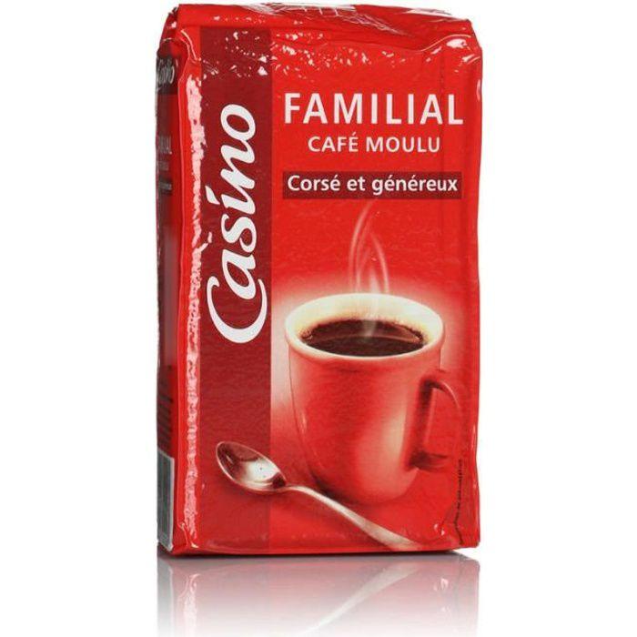 Café moulu familial - Corsé - Généreux - 250g
