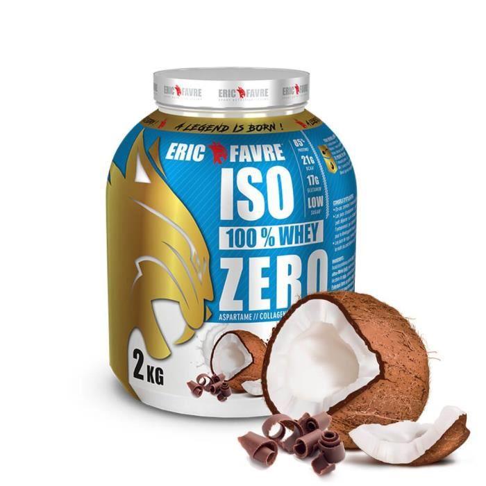 Eric Favre Iso 100% Whey Zero 2 kg - Choco-Coco