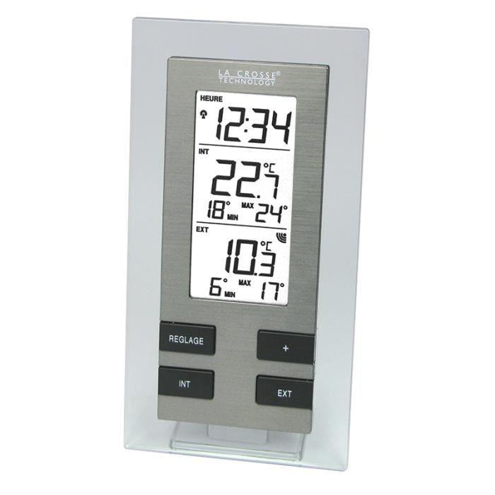 La Crosse Technology - WS9142IT-TRA-A Station de températures