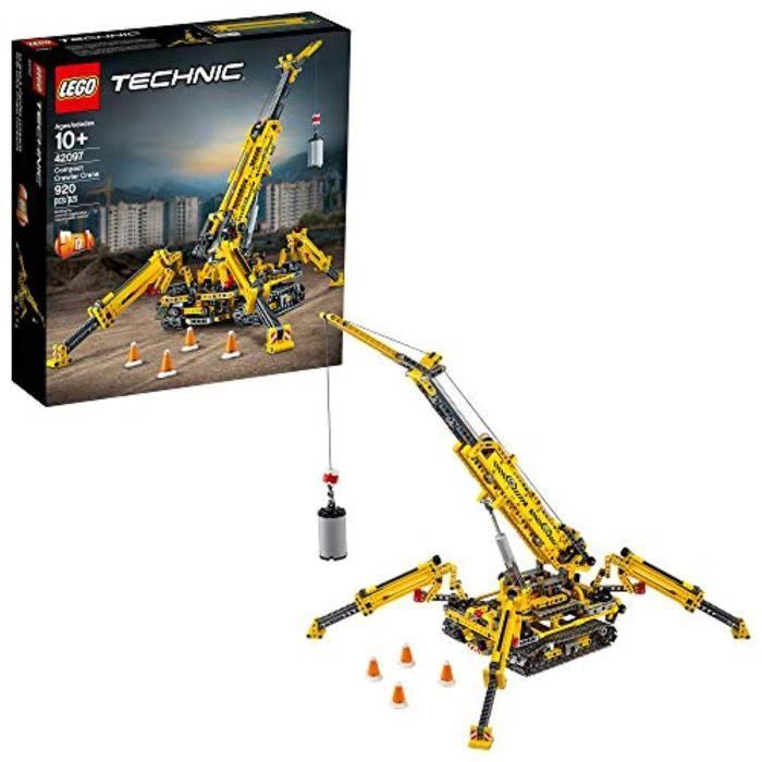 Jeu D'Assemblage LEGO DK0FC Technic sur chenilles Compact grue 42097 Kit de construction, Nouveau 2019 (920 Pieces