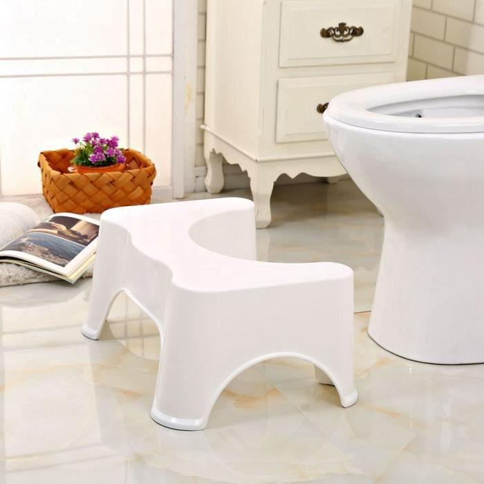 Tabouret de pied de toilette pour aide des enfants antidérapants, siège d'augmentation des pieds