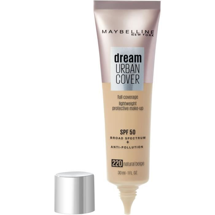 Maybelline New York Dream Urban Cover Nu 220 Natural Beige