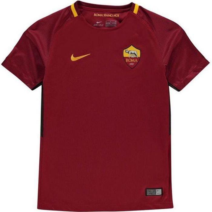 Nouveau Maillot Officiel Enfant Nike AS Roma Home 2017-2018