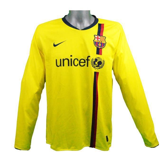 Maillot extérieur manches longues FC Barcelone 2008/2009 Messi