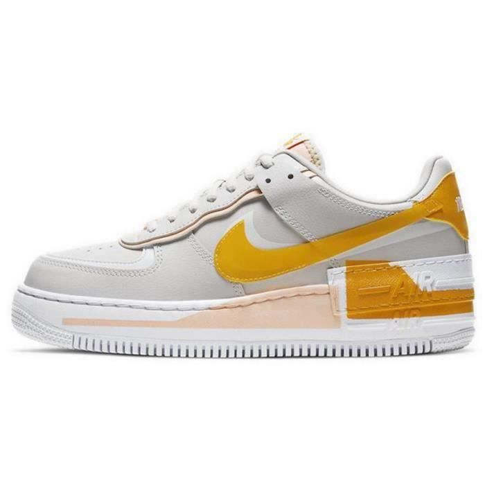 Basket Air Force 1 Shadow Air Force One AF 1 Low Chaussures de Running Femme CQ9503-1001