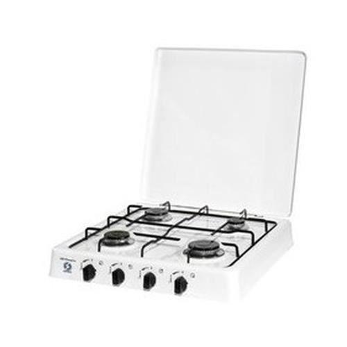 Orbegozo FO 4550, Dessus de table, Cuisinière à gaz, Émaillé, Blanc, 750 W, 1400 W
