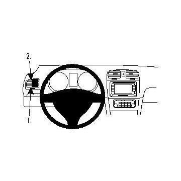 Fixation voiture ProClip Volkswagen Golf