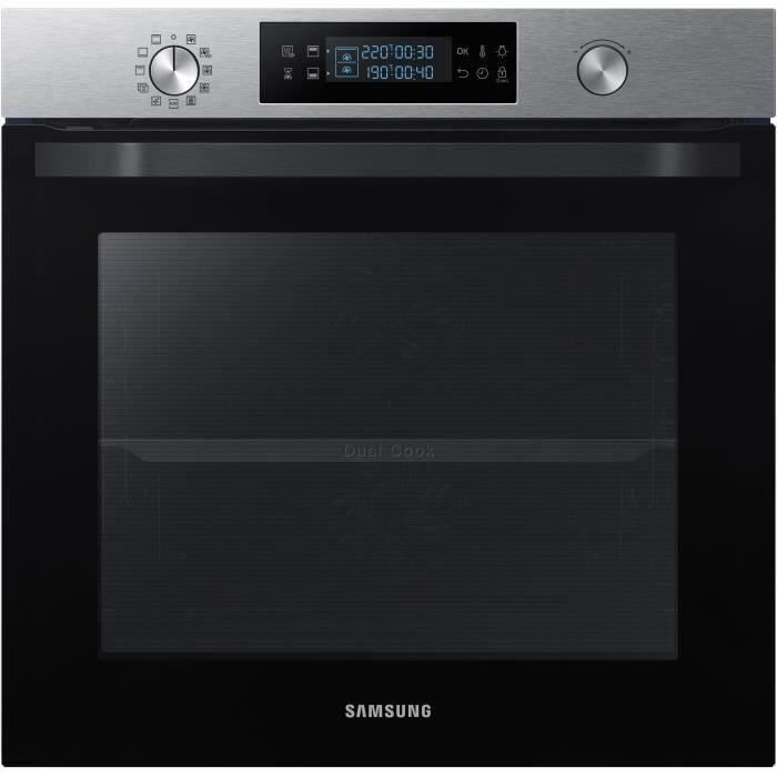 SAMSUNG - NV75K5575BT - Four Twin Convection™ - 75L - Pyrolyse - Classe énergétique A