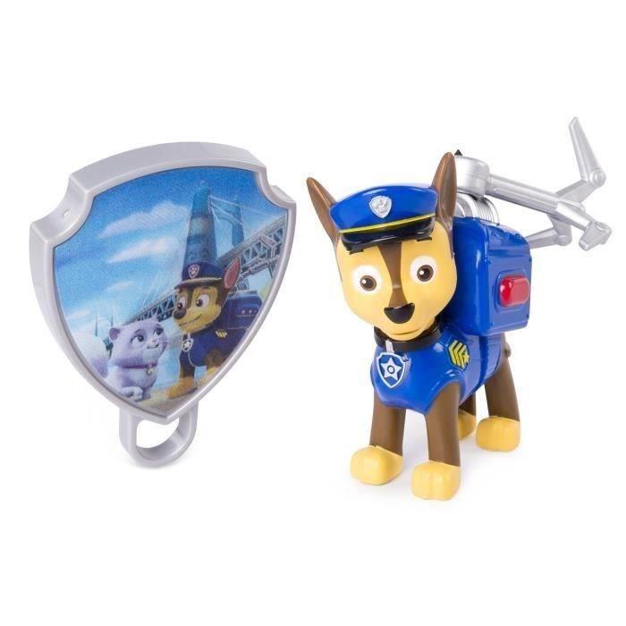 PAT PATROUILLE Figurine d'action bleue - Chase