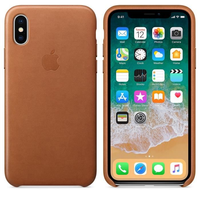 coque apple havane iphone x