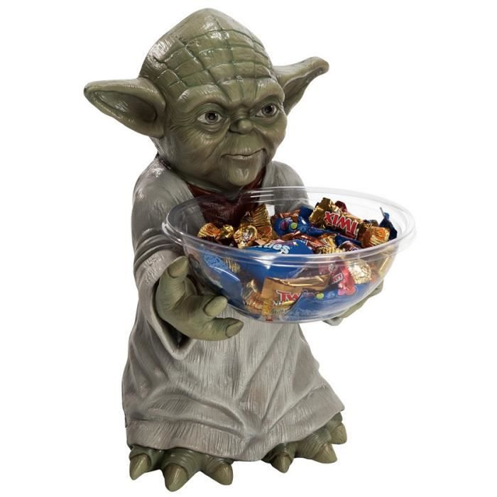Pot a bonbon maitre yoda star wars anniversaire for Chaise yoda
