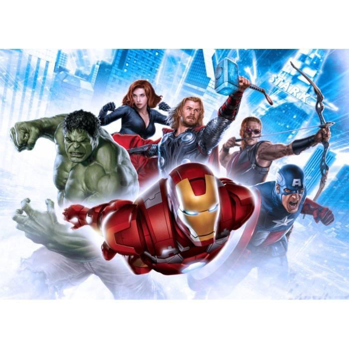 poster xxl movies avengers marvel achat vente affiche cdiscount. Black Bedroom Furniture Sets. Home Design Ideas