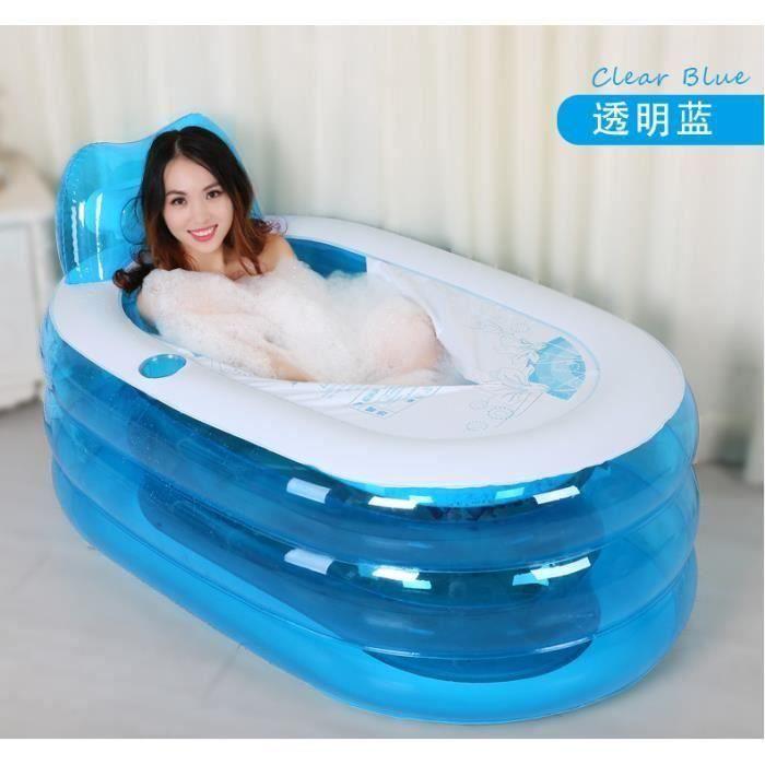 Nouvelle version am/élior/ée qualit/é sup/érieure 200 litres Tubble/® Compact Baignoire Gonflable Spa de taille adulte Ambient Taupe Baignoire Confortable