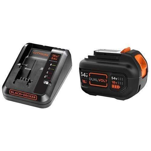 Noir BLACK+DECKER BDC2A-QW Chargeur de batterie 2 Ah